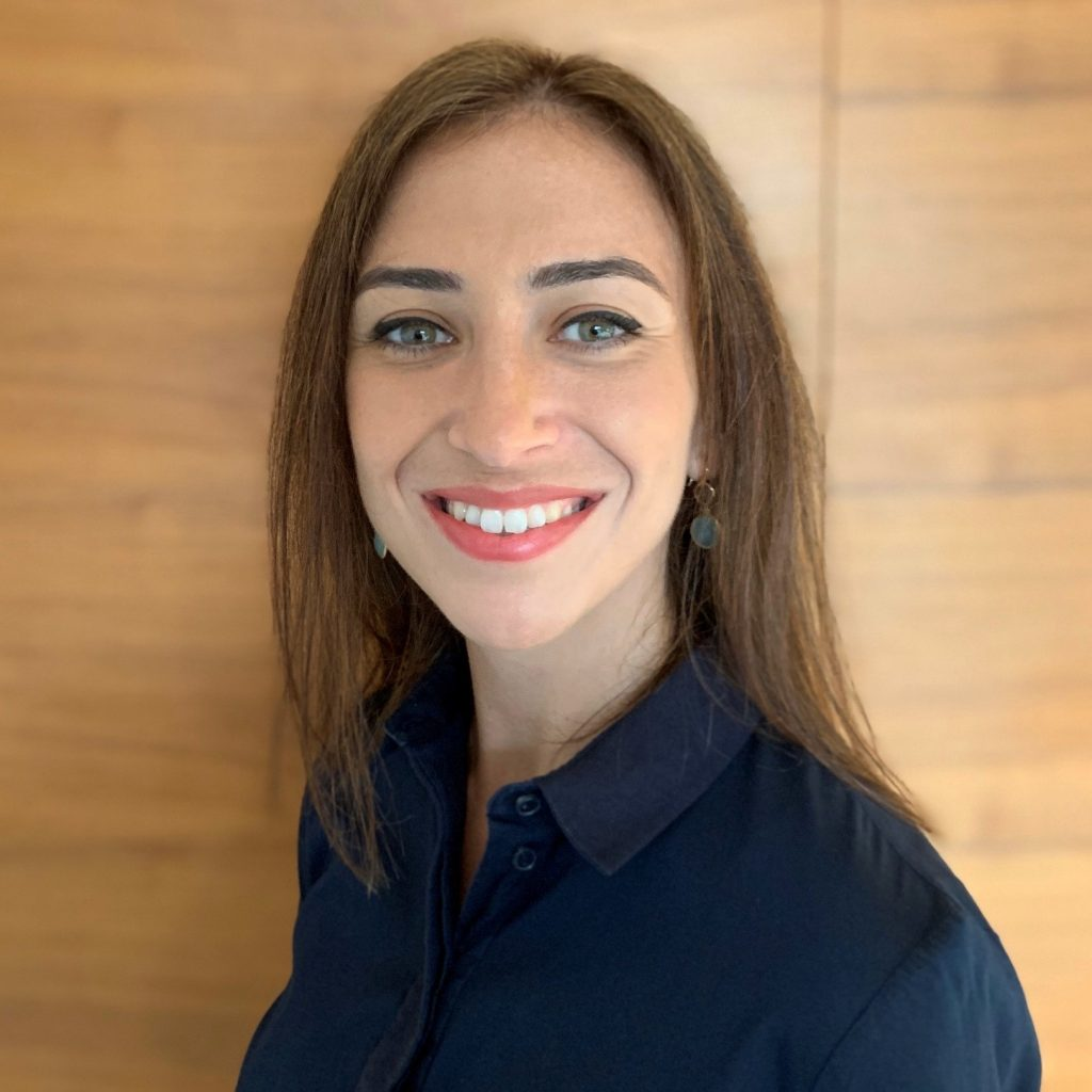 Professional headshot of Dina Papamichael