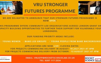 Stronger Futures Programme 2021/22